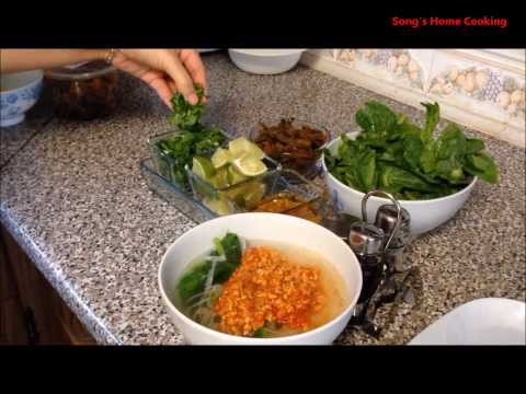how to cook burmese noodles