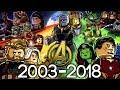 Every LEGO Marvel Superheroes Set EVER MADE 2003-2018