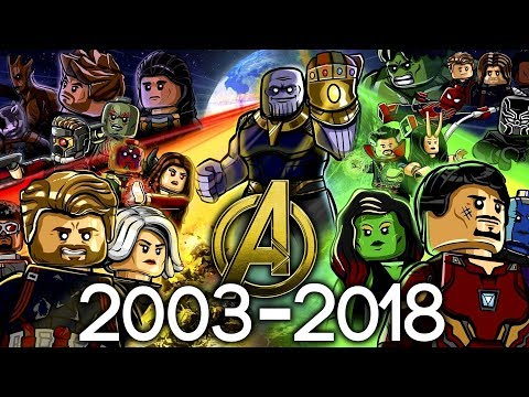 Every LEGO Marvel Superheroes Set EVER MADE 2003-2018