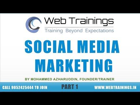 Social Media Marketing Tutorial - Facebook Marketing Part 1