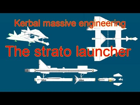 KSP cargo Strato launcher by WOLVSAid - To Duna again