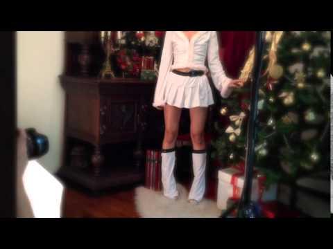 JELLY専属モデル着用♪2014最新サンタ★コレクションを動画でご紹介♪【6035】