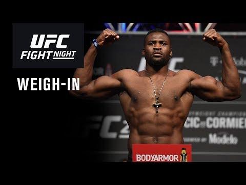UFC Phoenix: Weigh-in