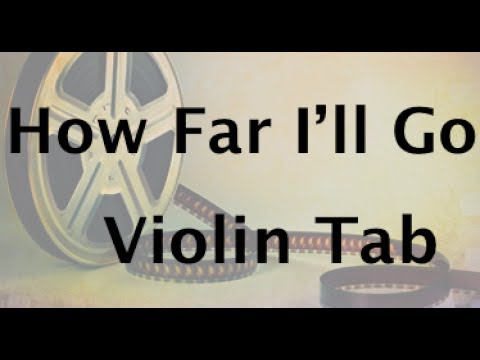Learn How Far I'll Go from Moana on Violin - How to Play Tutorial