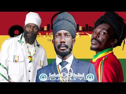 Capleton,Sizzla & Anthony B Reggae Unity Mix (Three The Reggae Way) Mix By Djeasy