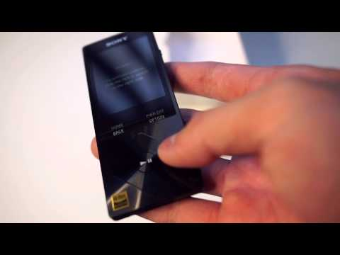 Sony NWZ-A15 Walkman Unboxing + FIRST IMPRESSIONS IN DESCRIPTION