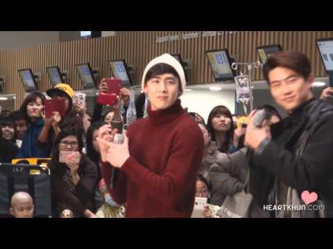 [닉쿤직캠]14.12.29-Samsung Medical Center Nichkhun fancam 10/10