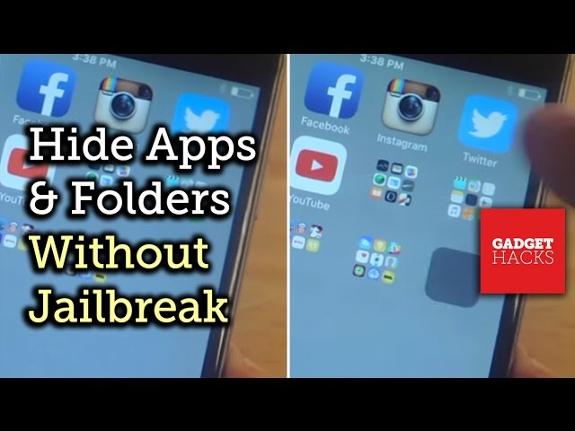 How to hide apps in an 'invisible' folder on iPhone or iPad