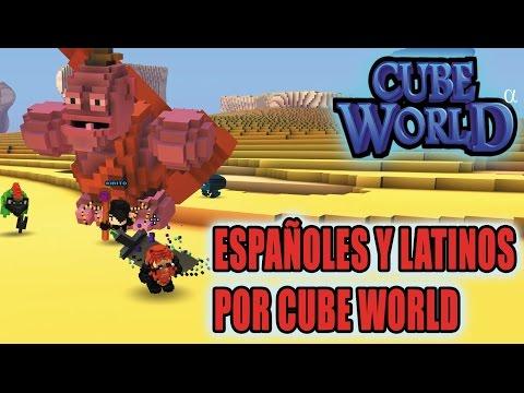 CUBE WORLD: Buscando Latinos y Españoles Por CUBE WORLD