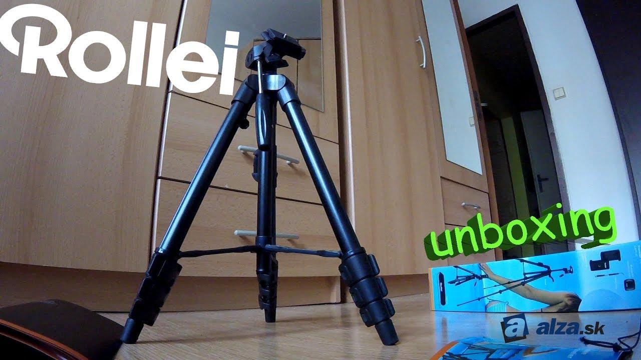29dd57ffc Rollei - Cestovný statív pre mobilné telefóny a fotoparáty (Unboxing ...