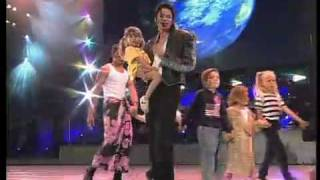 Michael Jackson's HIStory Live in Munich '97 (Japanese sub) - Heal The World.