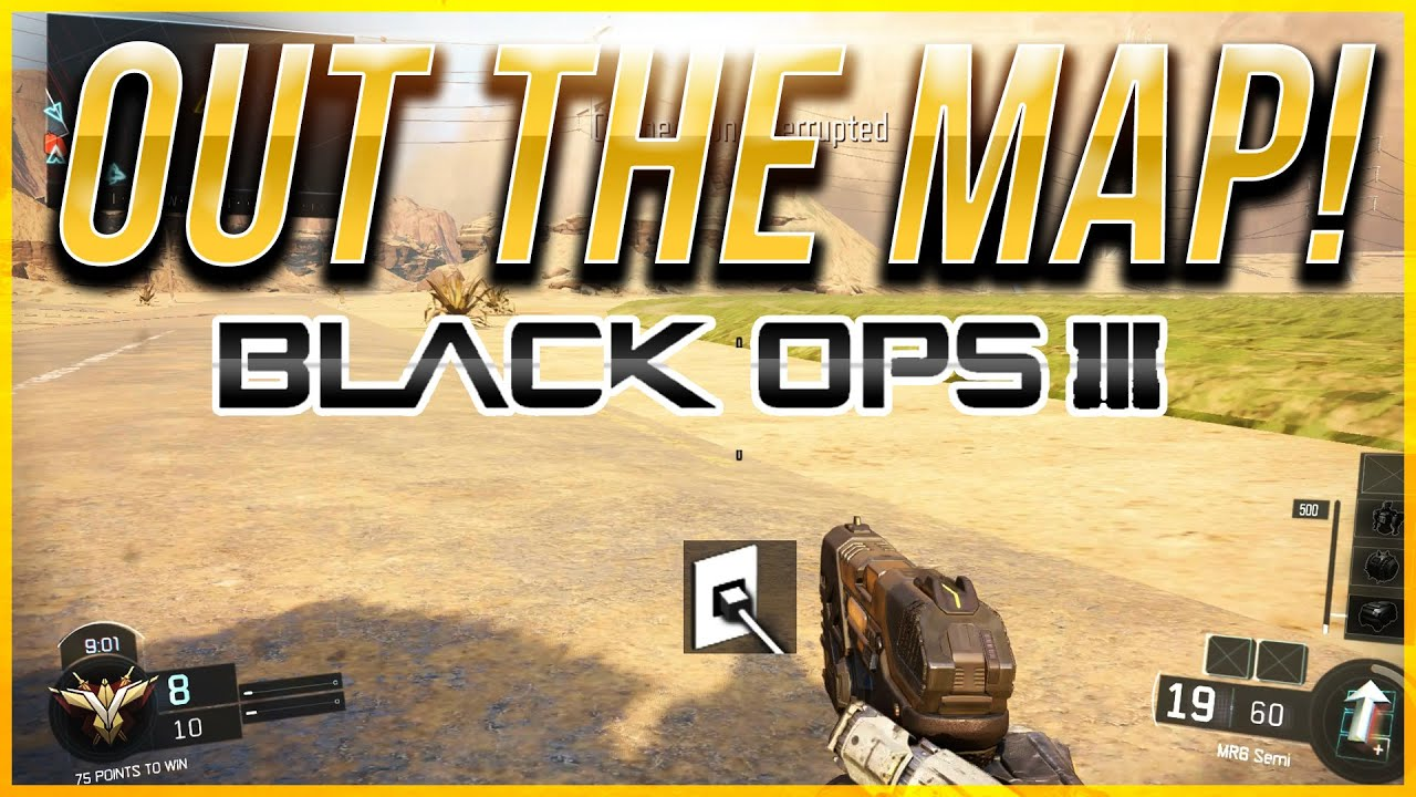 Black Ops 3 Glitches: Out Of The Map on Combine! - Benn Down