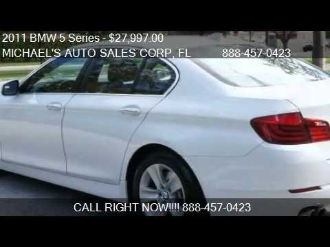 2011 BMW 5 Series 528i - for sale in Hollywood, FL 33023