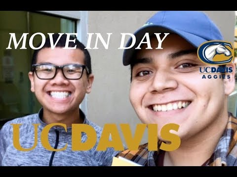 MOVE IN DAY UC DAVIS