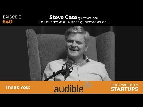 "Steve Case, AOL cofounder & author of ""The Third Wave,"" on internet revolution & innovation roadmap"