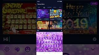 Top Purple Black Simple Keyboard Theme Similar Apps