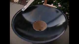 Homemade coin vortex