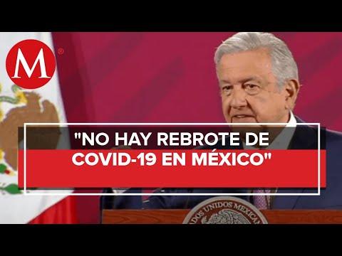 AMLO: en México no hay rebrote de covid-19