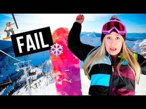 SNOWBOARD INJURY FAIL + MACBOOK GIVEAWAY