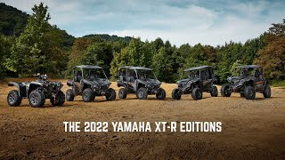 2022 XT-R Edition Family Lineup—Built for Extreme Adventure