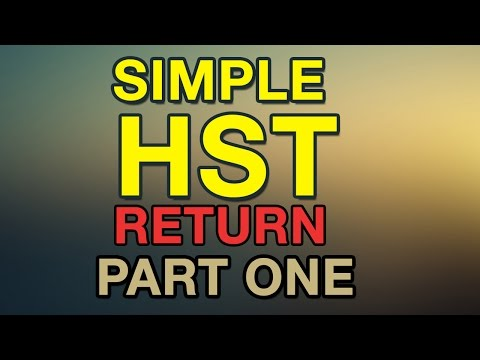 Simple HST Return - Part One