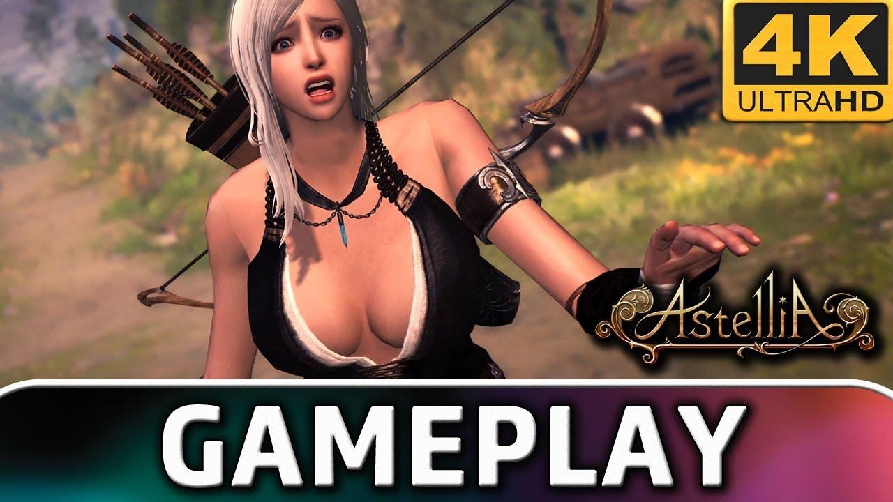 Astellia   10 Minutes of Gameplay on PC (4K & 60 FPS)