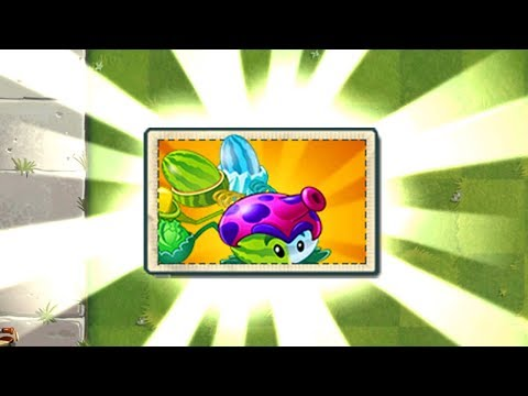 Plants vs Zombies 2 Mod - Every Plant Max Level Power-Up Vs Modern Day Final Boss Fight!