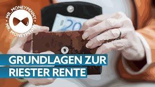 Riester Rente – Tipps von MR.MONEYPENNY