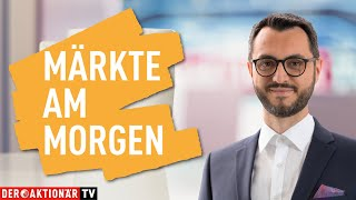 Marktüberblick: Dow Jones, DAX, Hugo Boss, Carnival, MorphoSys, Amazon