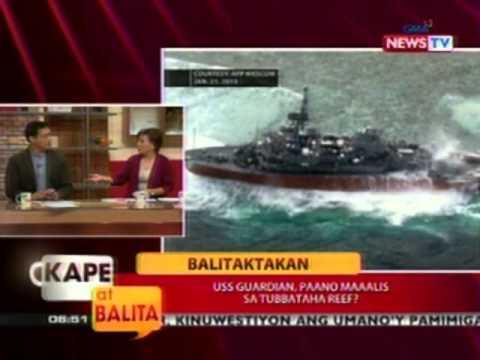 KB: USS Guardian, paano maalis sa Tubbataha Reef?