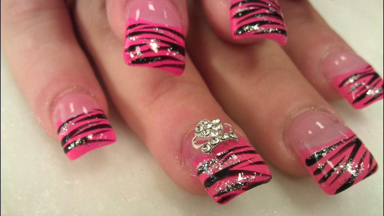 SHORT STUBBY NAILS MAKEOVER PART 1 Of 3