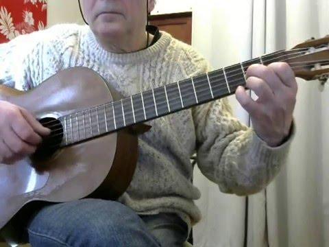 Blue Bayou - for solo guitar