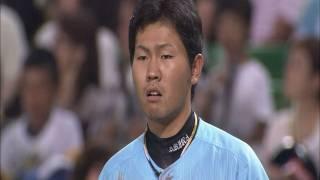 中村晃、気迫のヘッドスライディング 7月10日 ソフトバンク-ロッテ thumbnail
