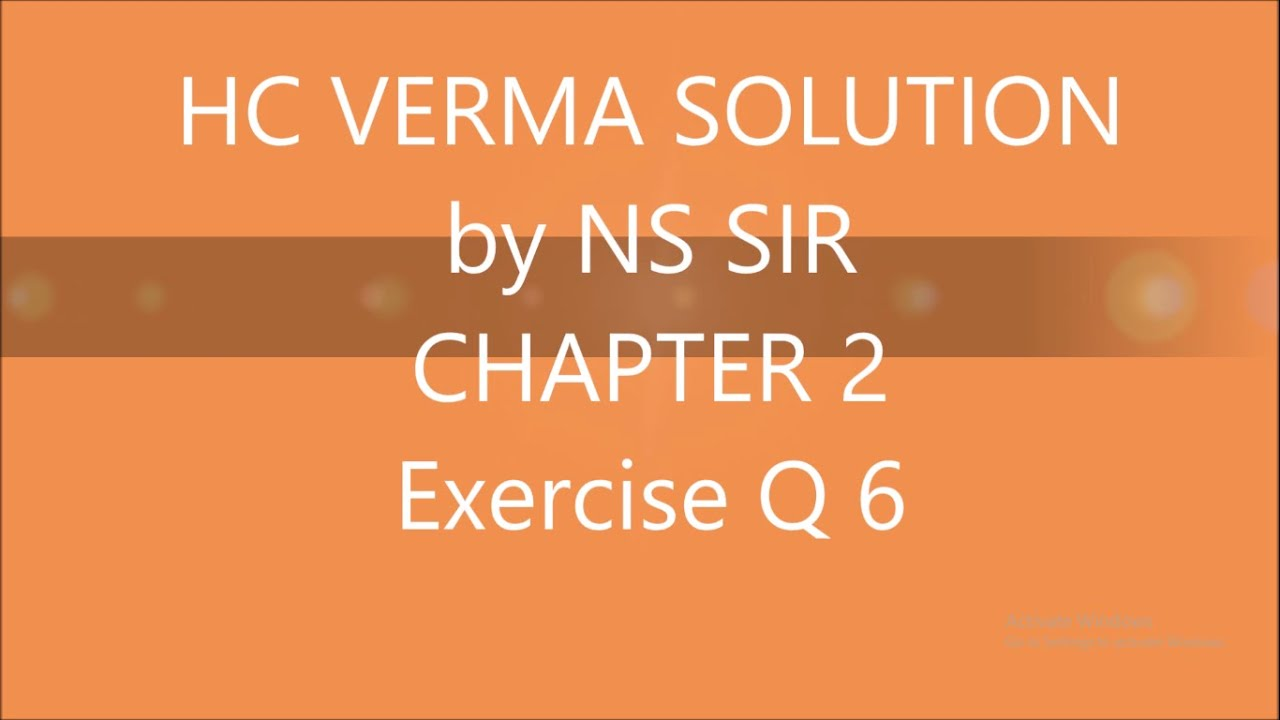 hc verma part 2 solutions music