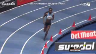 Genzebe Dibaba 4.13.31 mile indoor WR