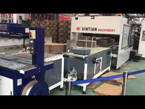 XinTian -920 case maker inline machine
