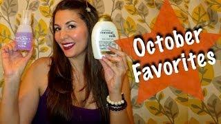 October Favorites - Beauty & Hair Thumbnail