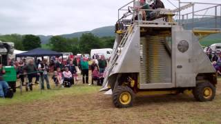 Raspberry Picker Vintage Agricultural Machinery Club Rally Strathmiglo Fife Scotland