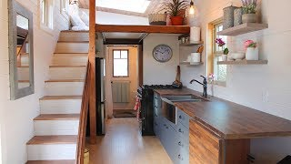 Beautiful Monarch Tiny House by Canadian Tiny Homes| Living Design For A Tiny House