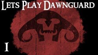 Lets Play Skyrim: Dawnguard (modded) - Part 1 - Orc Warlock