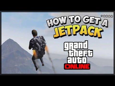GTA 5 Jetpack Online - How To Get The Jetpack