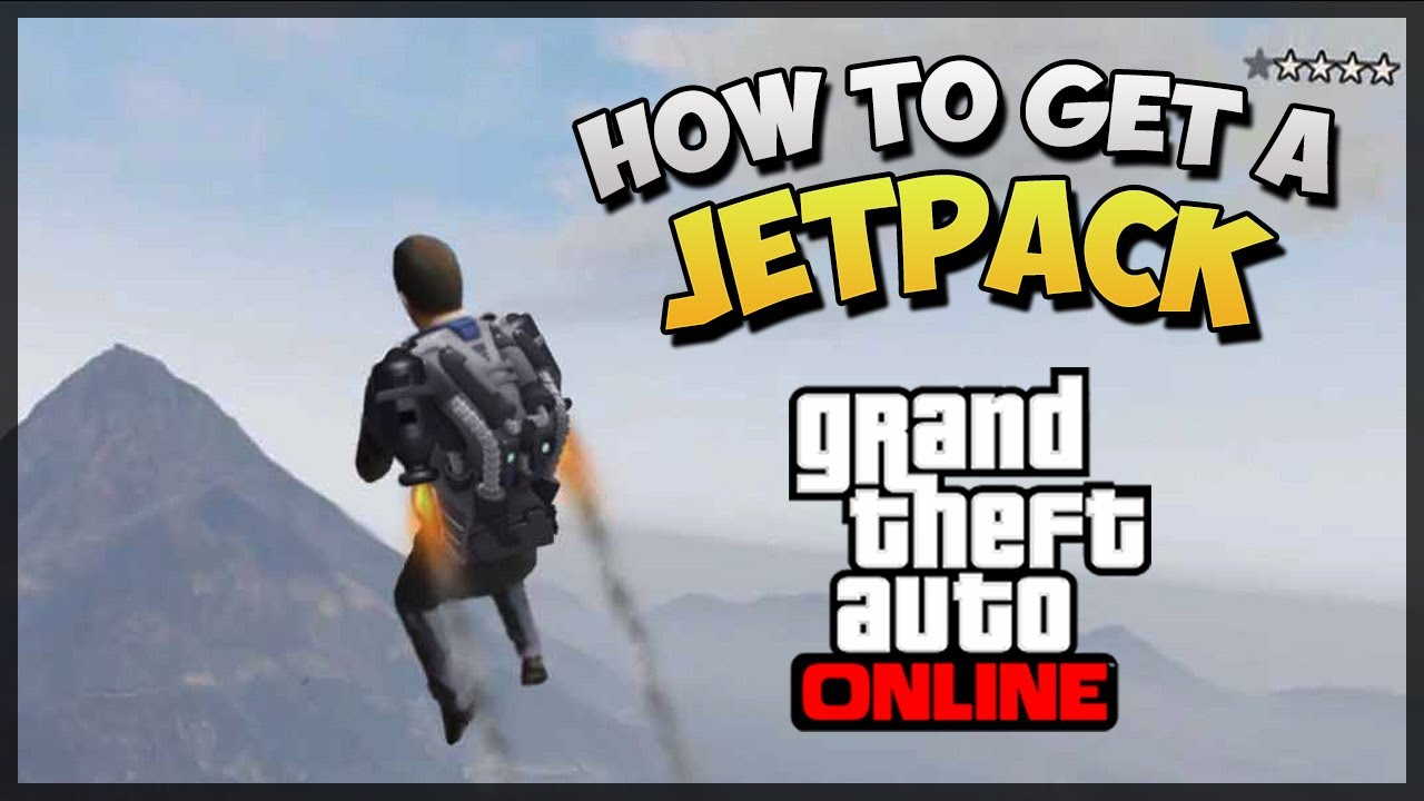 GTA 5 Jetpack Online -...