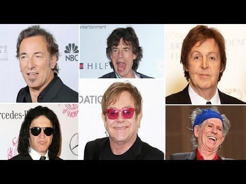 Top 10 Richest Rockstars