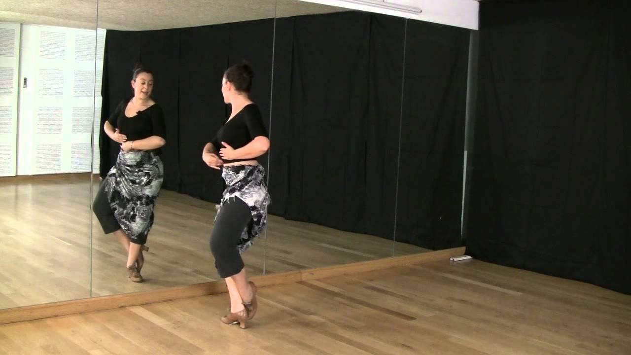 Técnica De Baile Flamenco Nivel Básico Vueltas De Pecho Youtube