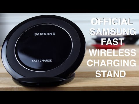 Official Samsung Fast Wireless Charging Stand Galaxy S7 Edge 30 Minute Charge Test and Full Review!