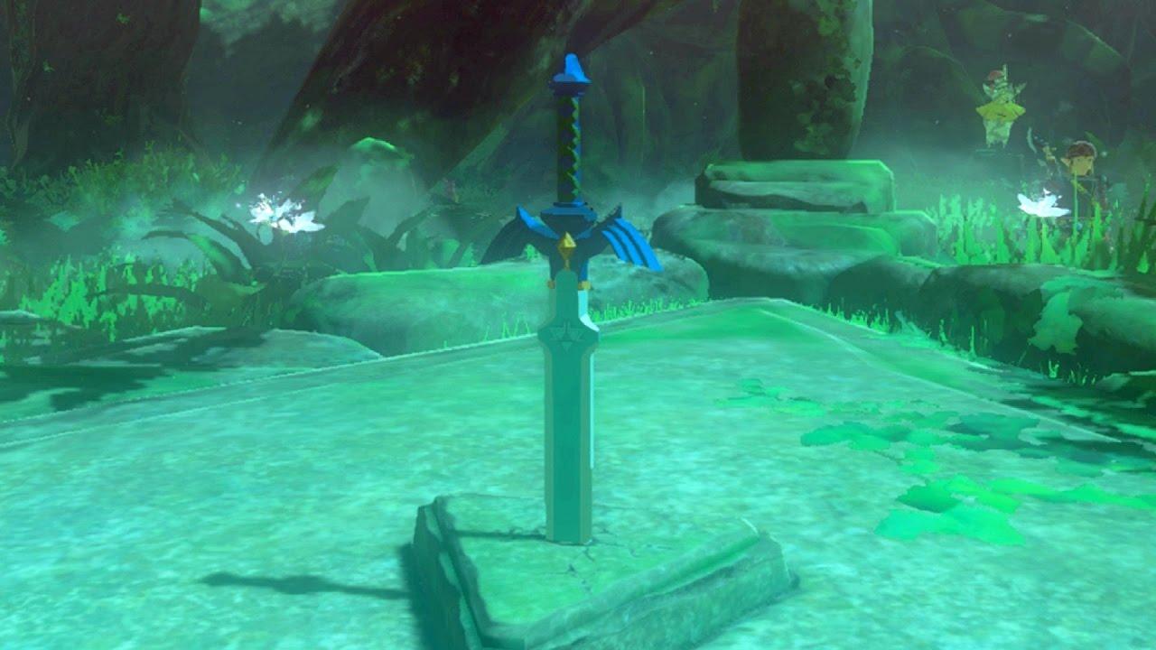 Resultado de imagem para zelda breath of the wild master sword