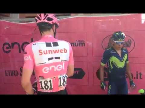 Dumoulin recrimina a Quintana que no diera relevos en el último puerto