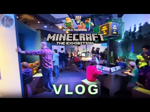Minecraft The Exhibition at the Museum of Pop Culture Seattle VLOG