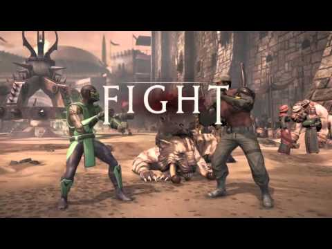 Mortal Kombat XL Premier Tower: Reptile In St Patricks Day (Watch Out for Leprechauns)