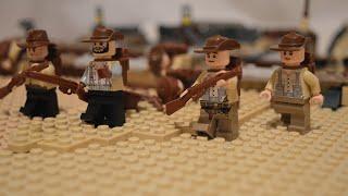 Lego WW1: The Battle of the Nek - stop motion